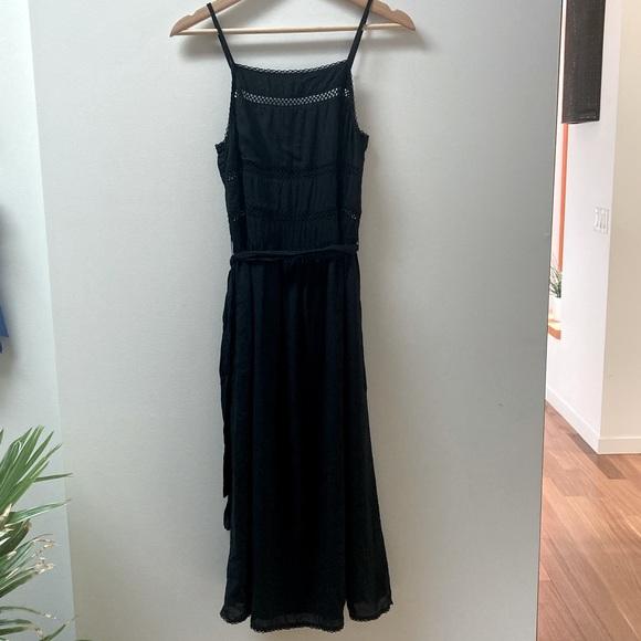 Wilfred Black Boho-Style Dress